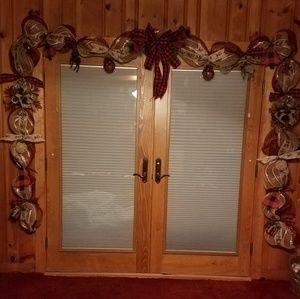 Other - 18' Rustic  Reindeer Christmas Garland Mantel Swag